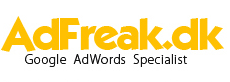 Google AdWords | Officiel AdFreak.dk – din Google Adwords specialist